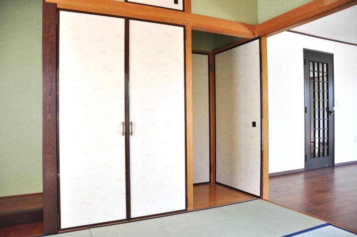 高槻市浮田工務店リフォーム後和室