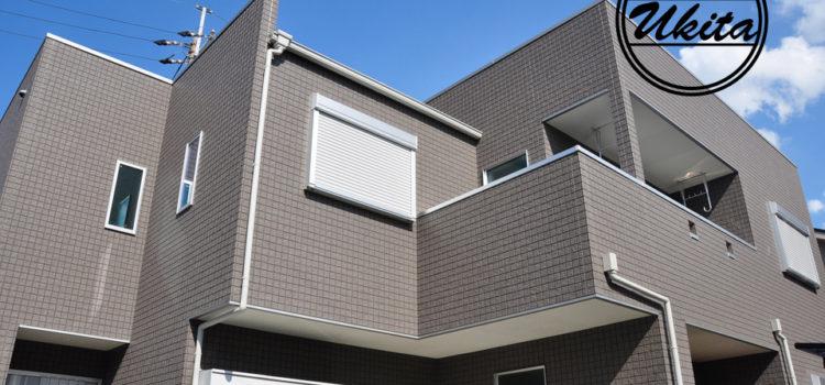 事務所もある2世帯長期優良住宅の家。