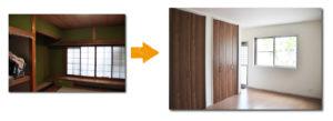 高槻戸建リフォーム和室施工写真