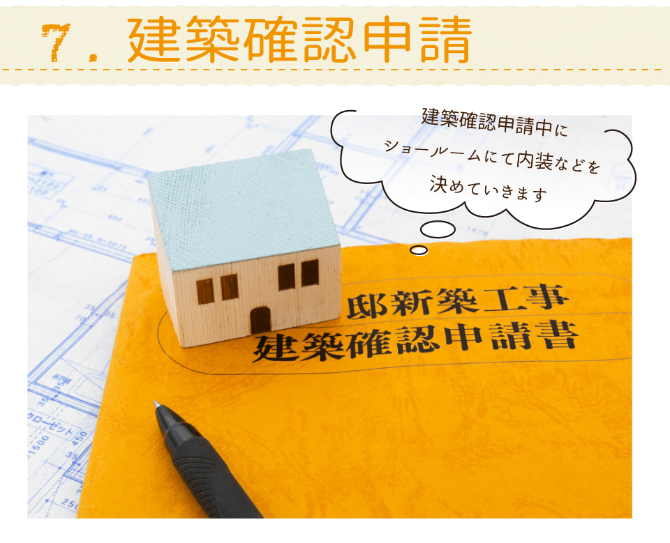 高槻浮田工務店新築・リフォーム・リノベーション建築確認申請