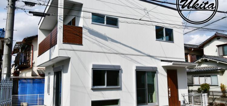 長期優良住宅のキューブ型のシンプルハウス。