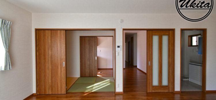 二人暮らしに最適な大きさ。収納たっぷり動線を考えた平屋建ての家。
